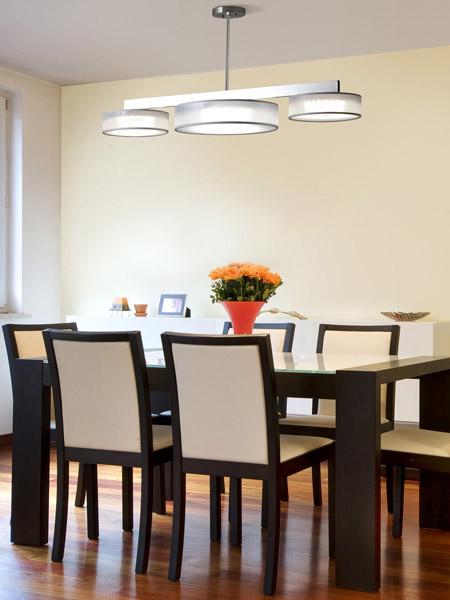 Dexter Triple Restaurant Ceiling Light Fixture Seascape Lamps