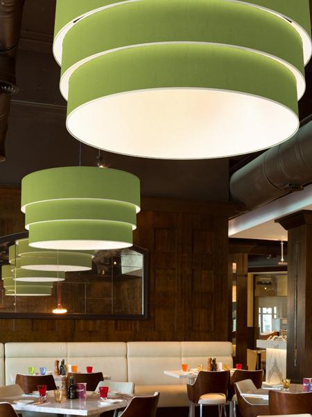 Vidal Drum Ceiling Light Fixture Commercial Lighting Seascape Lamps