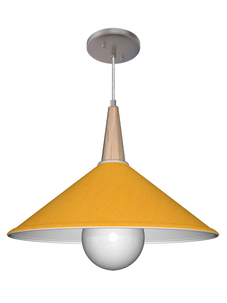 Finn Contemporary Coolie Light Fixture Seascape Lamps