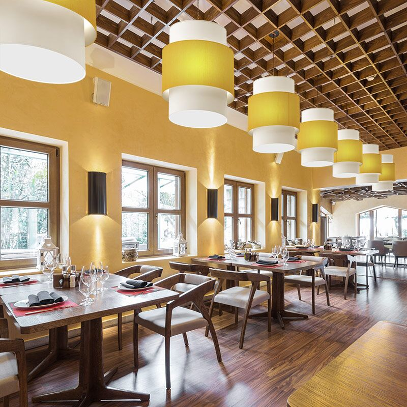 Commercial Lighting For Hotels Restaurants Retail